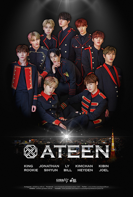 """ATEEN 1st CONCERT in JAPAN"""