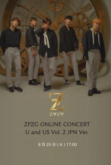 【ONLINE LIVE】ZPZG ONLINE CONCERT U and US Vol. 2 JPN Ver.