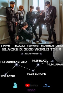 BLACK6IX 2020 WORLD TOUR