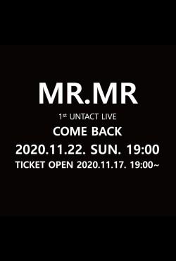 MR.MR 1st UNTACT LIVE